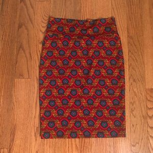 LuLaRoe Cassie pencil skirt Size Small